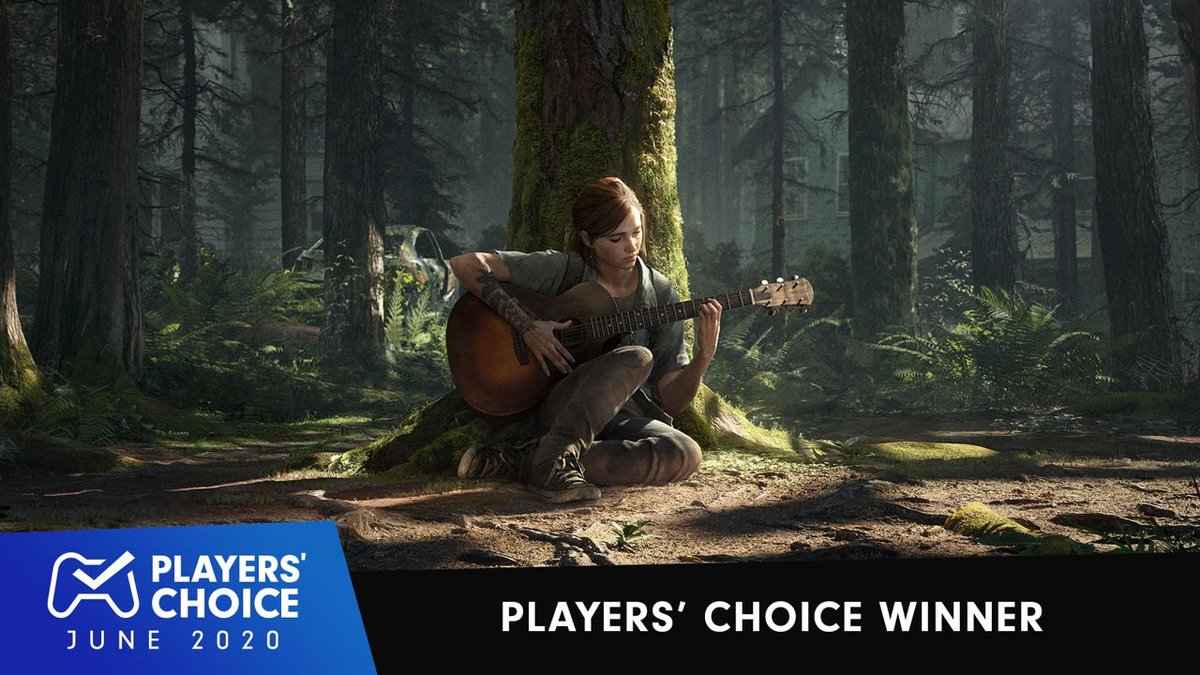 The Last of Us Part II was voted June's best new game by https://t.co/6rfZPfxTMf readers: https://t.co/hoEgbATciS  Congratulations, @Naughty_Dog! https://t.co/3uzjxXFVVI