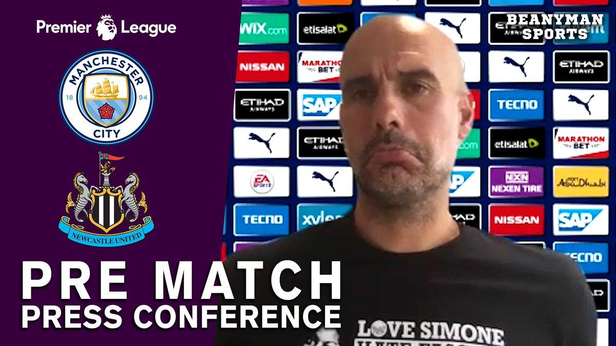 VIDEO - Pep Guardiola FULL Pre-Match Press Conference - Man City v Newcastle - Premier League https://t.co/YH6yY8vpH0 PLEASE SHARE! https://t.co/dUGRVTmVpb