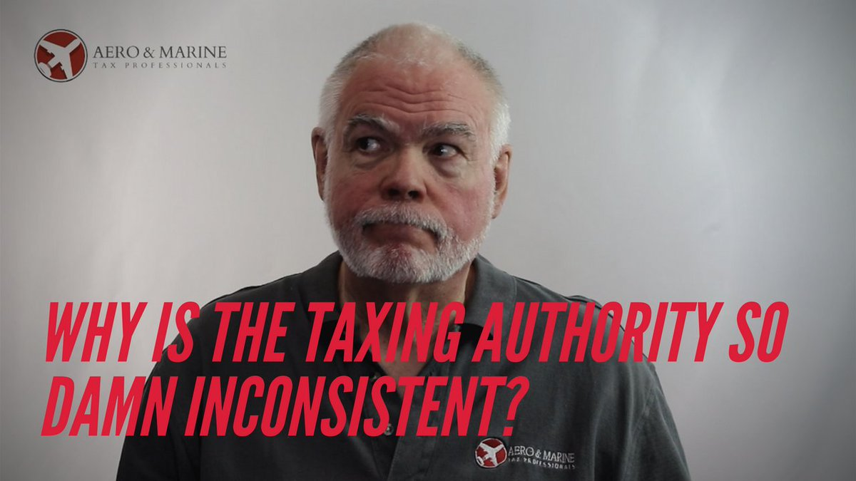 Ever wonder why it is so hard to understand the taxing authorities? You are not alone.   https://t.co/twLhckIG0W   #aviation #airplane #planes #jets #aircraft #pilot #helicopters #boats #vessels #sailing #yachts #businessaviation #bizav https://t.co/oRKzpBSt8U