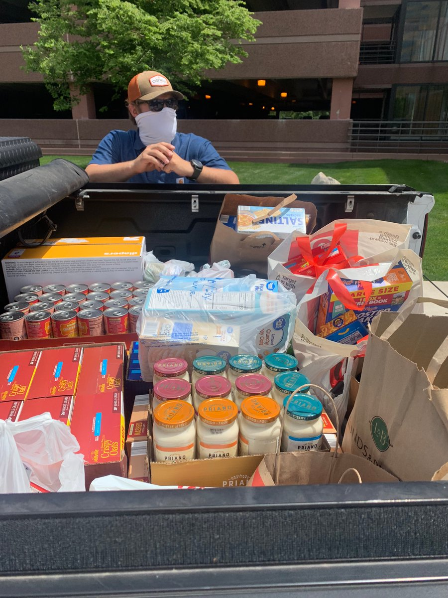 AP team members hosted a supply drive to benefit @SheridanStory,  which helps provide food to those who are struggling in our community. We love that we can always count on our team to help when they are needed most. #APCares