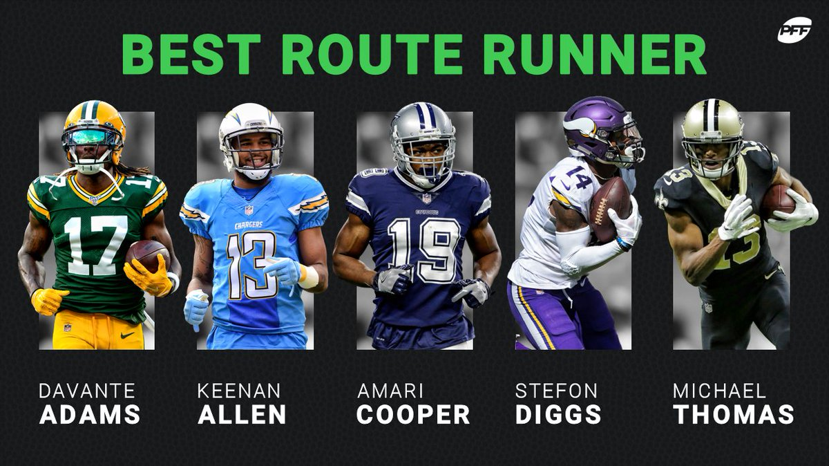 Who is the best route runner in the NFL? <br>http://pic.twitter.com/l83Q8gEvLQ