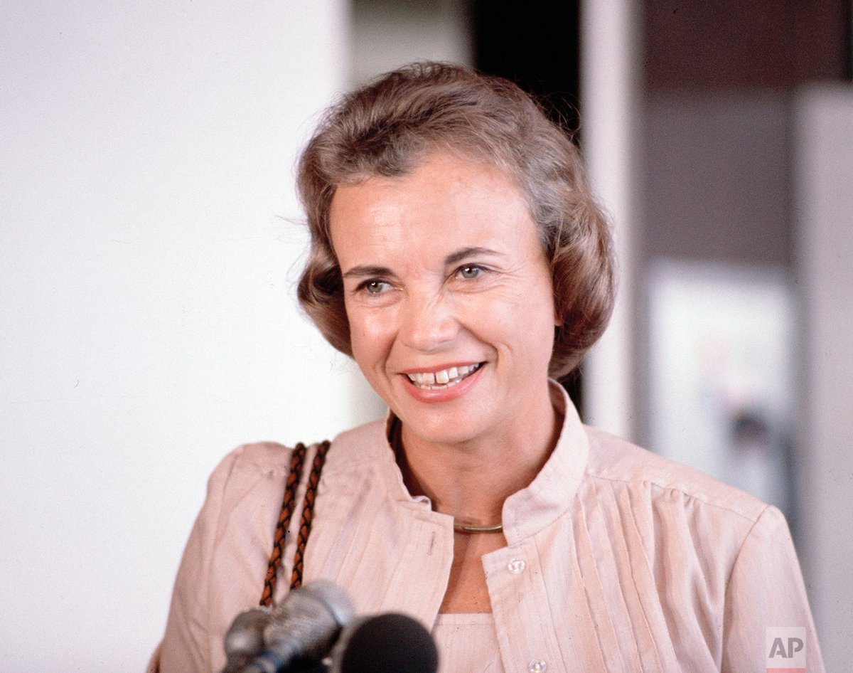 #OTD in 1981, President Ronald Reagan nominated the first female Supreme Court Justice, Sandra Day O'Connor.