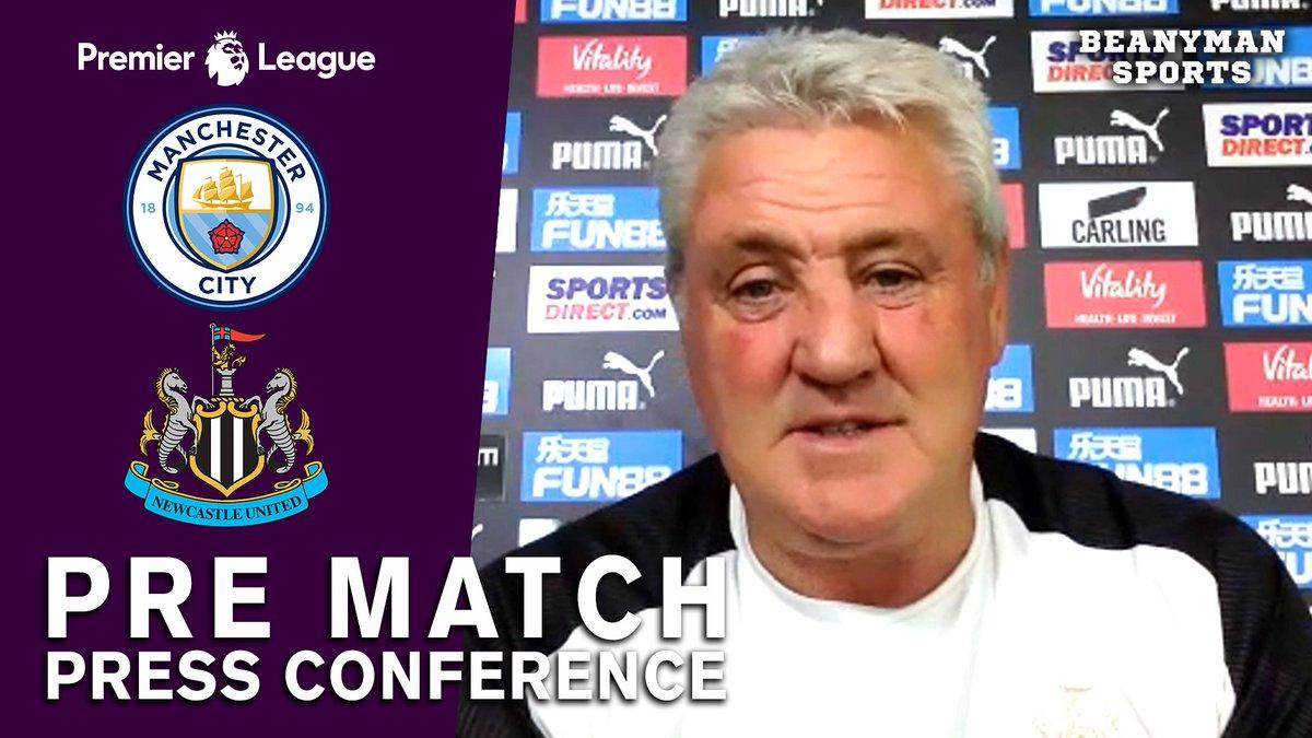 VIDEO - Steve Bruce FULL Pre-Match Press Conference - Man City v Newcastle - Premier League https://t.co/tuXiAZ8kZO PLEASE SHARE! https://t.co/5QuNEO4JE0