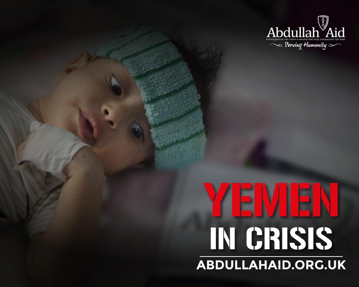 Yemen needs your help! Yemen needs your help! Yemen needs your help! #AbdullahAidUK #Yemen Supported by Mufti Menk @Abdullahaiduk