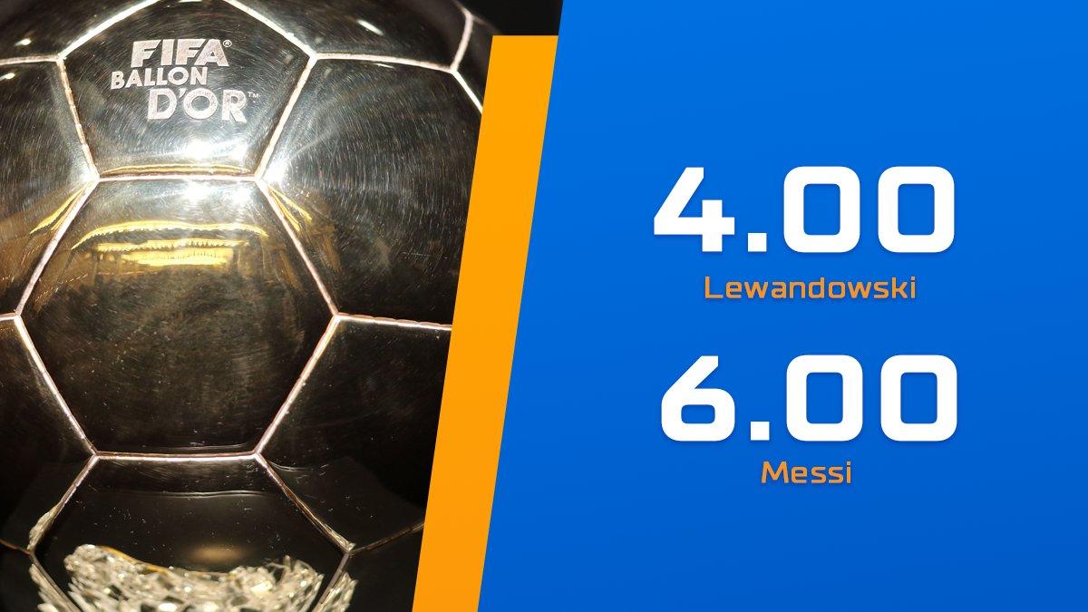Lewy, Messi a może ktoś inny? W naszej ofercie już możecie typować rozstrzygnięcia prestiżowej nagrody #zlotapilka #ballondor 👀🔥  🌟