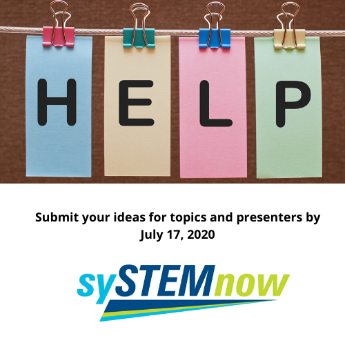 "We need your help to submit your proposal on ""Equity in STEM"" to make this conference the best ever! #STEM #STEMeducation #educator   https://bit.ly/2AKXj1M pic.twitter.com/OsObn9Me2F"