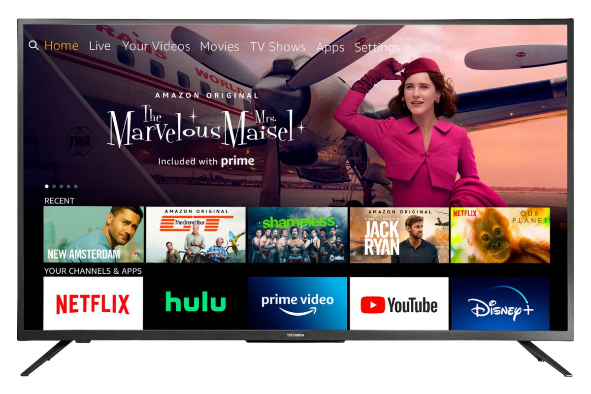 Toshiba's discounted 50-inch 4K HDR TV includes a free Echo Dot at Best Buy