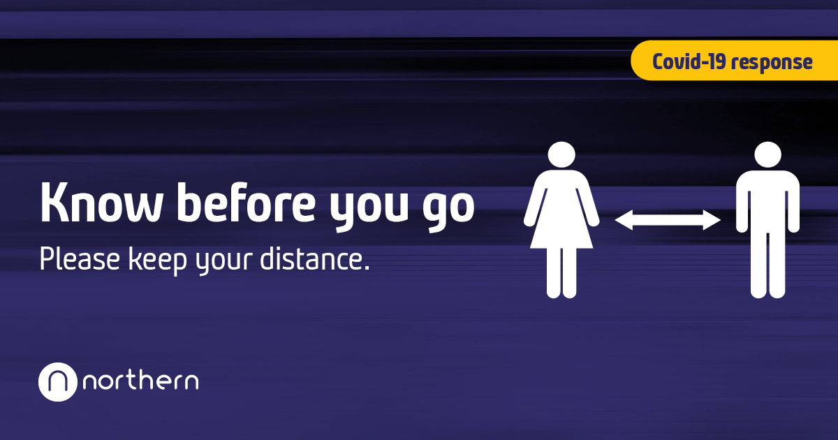 If you choose to travel by train, please travel safe and know before you go.   🧍♂️↔️🧍♀️ Keep your distance   More travel advice 👉 https://t.co/2xwTU5gCVR https://t.co/BEtGwhnm2W