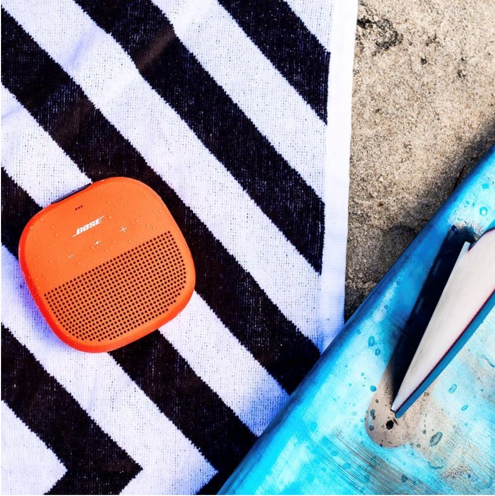 Save now on summer sounds. Score $20 off #SoundLink Micro today: bose.life/2BLAN9u