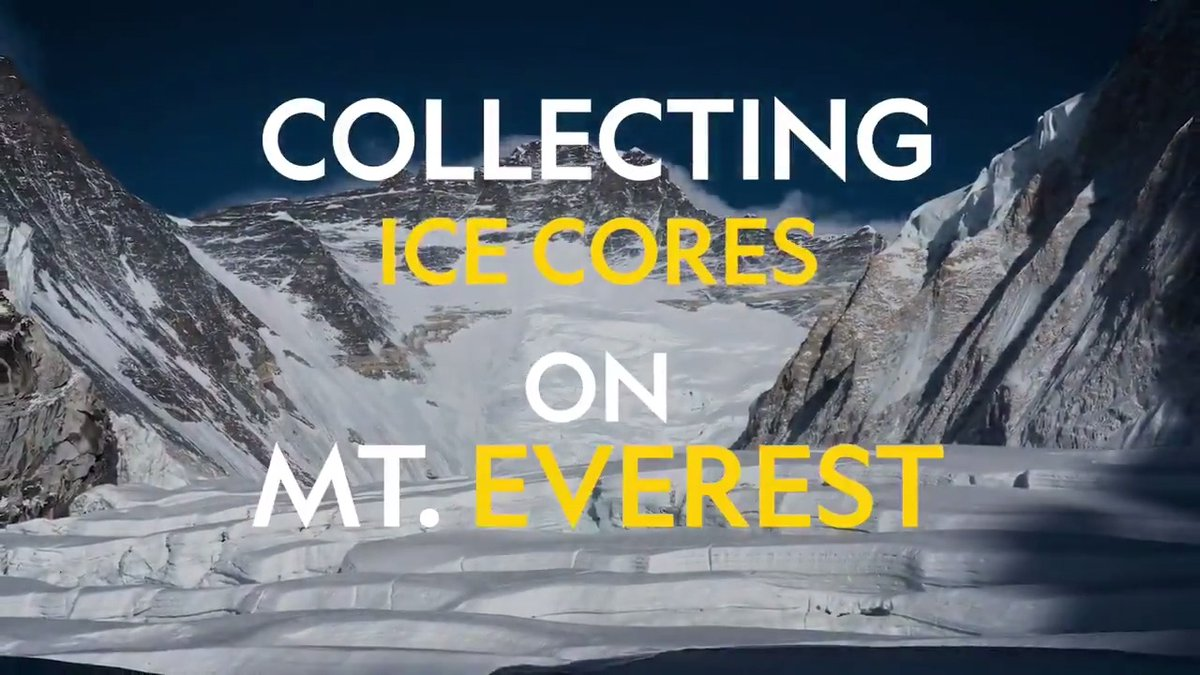 """Ice cores are the most robust tool that we have for looking at past climate. Glaciers don't lie."" #partneredcontent @Rolex #PerpetualPlanet https://t.co/2pnHFDWhO4"