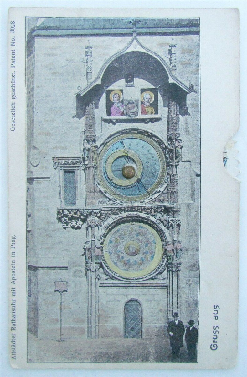 Installed in the year 1410, this giant outdoor clock in downtown Prague has been ticking for over 6 centuries, and is the world's oldest astronomical clock still in operation 🇨🇿♥️  #astronomicalclock #prague #czechrepublic #praha #travel #clock #praga #oldtown #art #clocktower https://t.co/L9rkBMlsVy