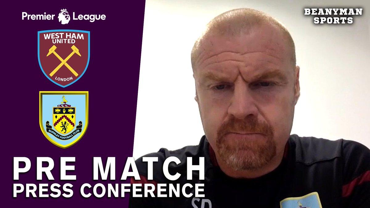 VIDEO - Sean Dyche FULL Pre-Match Press Conference - West Ham v Burnley - Premier League https://t.co/55Zyp9Cl8c PLEASE SHARE! https://t.co/cG6XcBe59E
