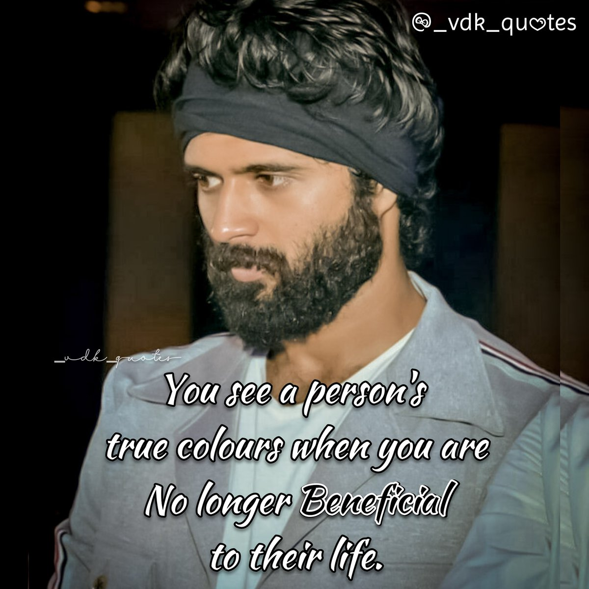 When you are no longer BENEFICIAL @TheDeverakonda  #VijayDeverakonda  #DearComradeTrendOnJuly25th  #quoteoftheday  @ChSree3pic.twitter.com/6Ty5FV7pJl