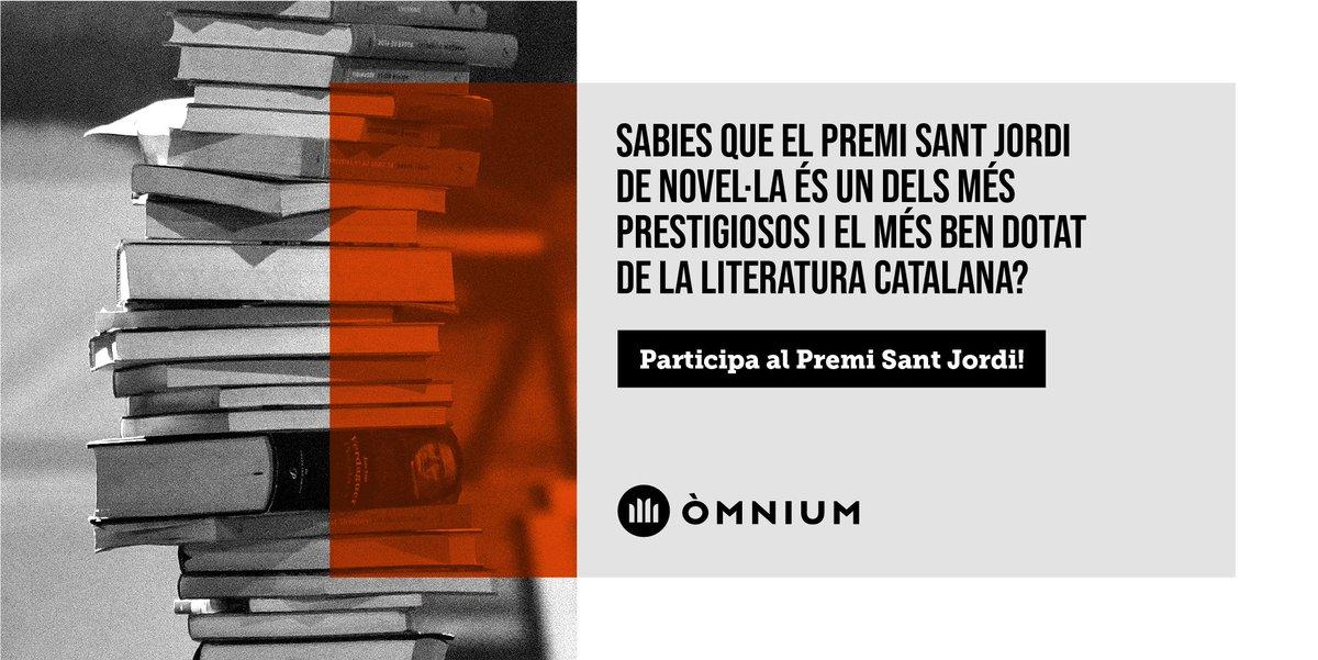 📗 Aquest 17 de juliol s'acaba el termini de presentació d'originals del Premi Sant Jordi de Novel·la d'enguany, un dels més prestigiosos de la literatura catalana. Envia'ns la teva obra!  Consulta'n les bases ✍🏻 https://t.co/InRQkyicql  #PremiSantJordi https://t.co/ksxi2IUGbG
