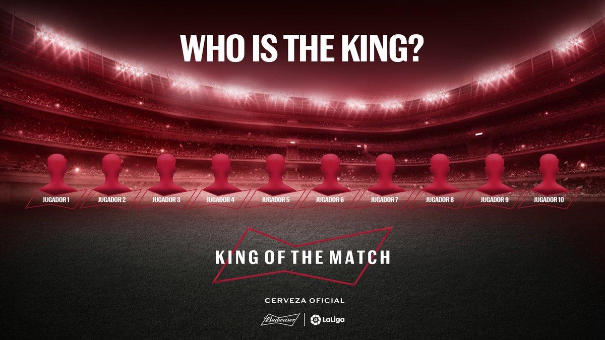 ¿Estáis preparados para el #WhoIsTheKing? Os daremos varias pistas sobre cada uno de los #KingOfTheMatch de la última jornada de @LaLiga y tendréis que adivinar de quién se trata.  ¡A por ellos! 👏 https://t.co/NAP2zx7Sdu