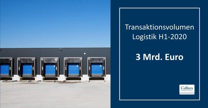 Der Investmentmarkt für Industrie- und Logistikimmobilien profitiert von einem Corona-bedingten Nachfrageschub. #Logistik #Immobilien Hier die Bilanz des ersten Halbjahres 2020: t.co/CXOVPA3TtK
