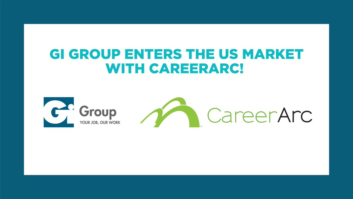 We are proud to announce the acquisition of the #outplacement branch of CareerArc, based in California, offering digital #careertransition services.  This new step forward allows #GiGroup to enter the US market.  Check out the press release: https://t.co/CrvGhwJikr https://t.co/TVAlRcmMrP
