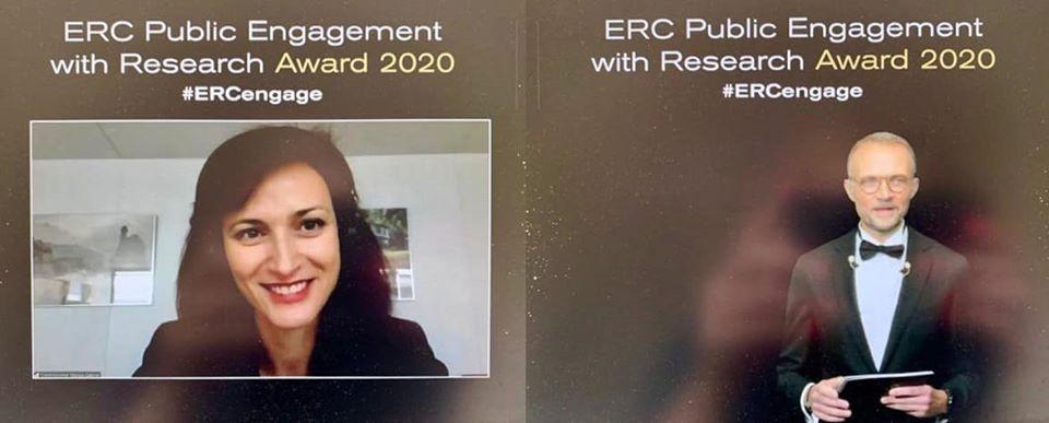 Как комуникираме постиженията на науката и проучванията с ключова роля за нашия живот?  Днес комисар @GabrielMariya връчи 🏆 наградите на @ERC_Research за ангажиране на гражданското общество към научните изследвания. Победителите и техните постижения 👀👉https://t.co/2rNfRCg6On https://t.co/54uwyBq6pV