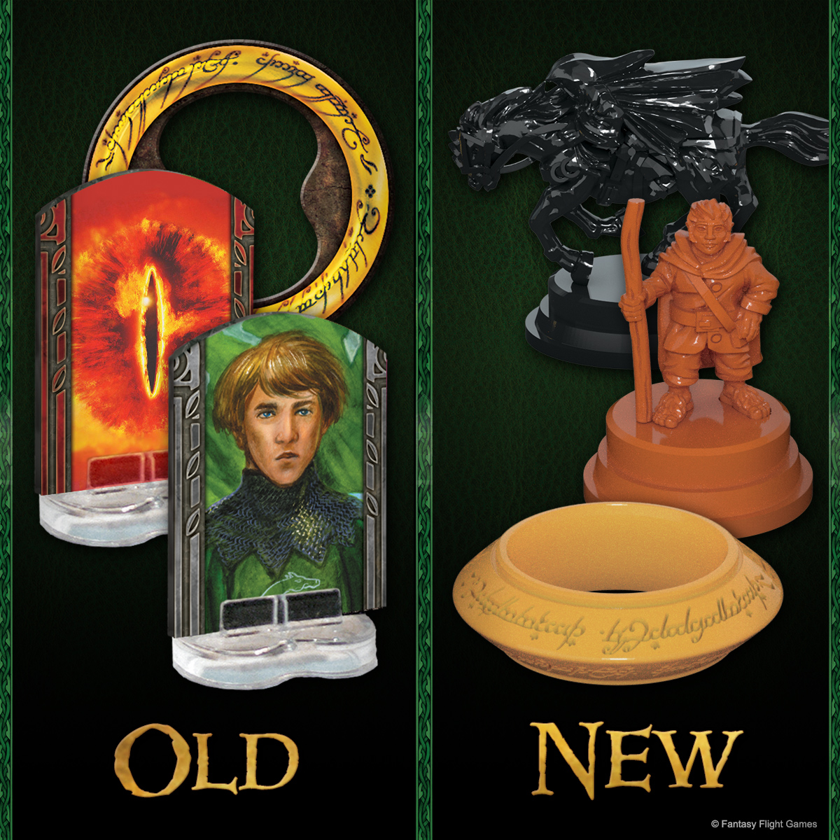 Feast your eyes on the brand-new sculpts for Hobbits, Sauron, and the One Ring in the anniversary edition of The Lord of the Rings: The Board Game! #TheLordoftheRings #boardgame https://t.co/GxDWEVh7NX