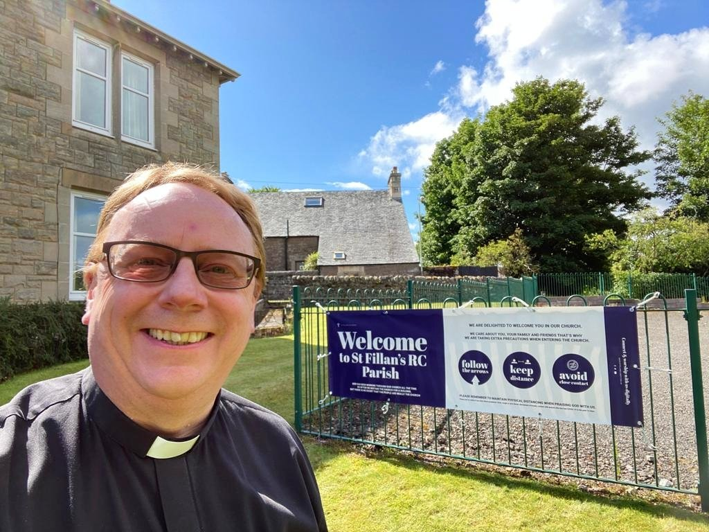 Our 'Welcome' banner has finally arrived!  #welcome #CatholicChurchpic.twitter.com/R6KicWEjmh