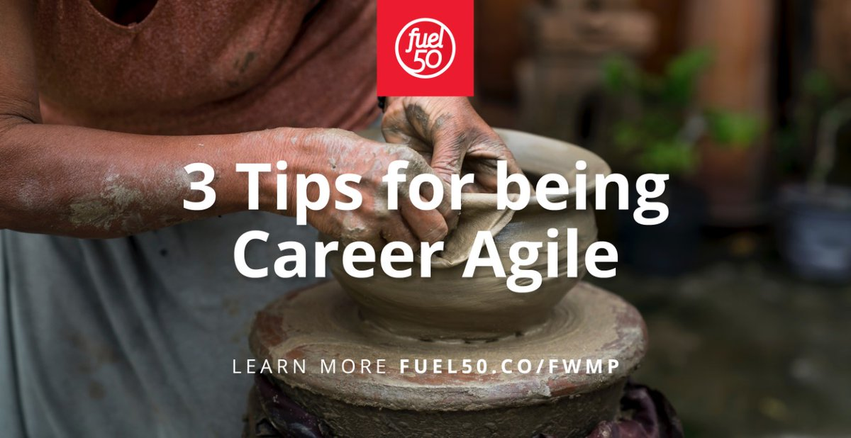 "Marija Potter, Global Director of Consulting Services at Fuel50, recently presented on a FLINT webinar, where she shared her ""3 tips for being Career Agile"" -- watch at http://fuel50.co/fwmp  #CareerAgility #CareerDevelopment #GrowthMindsetpic.twitter.com/SFLEwRZQX0"