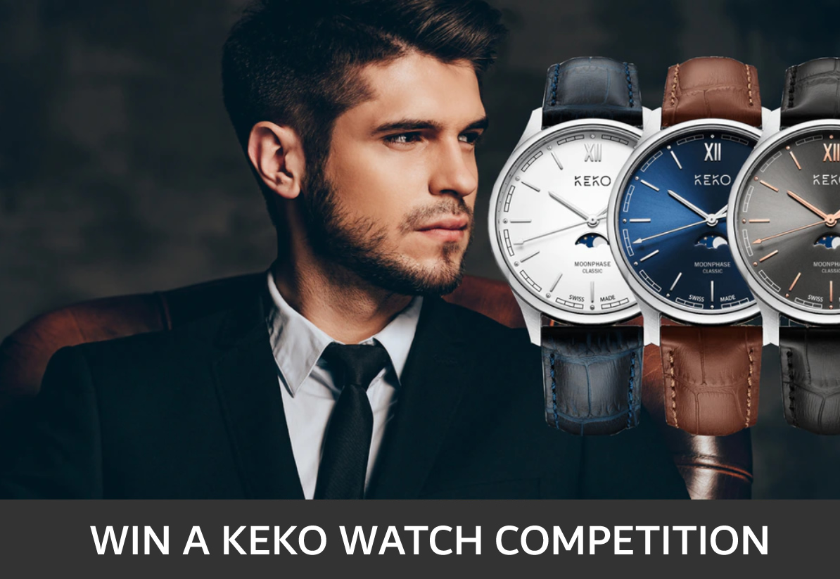 #Competition Win a KeKo Moonphase Watch watch with a value of $320, a classic timepiece with SWISS movement. Enter & #RT for a chance to #win: https://gleam.io/AzrIC/keko-watches-competition-giveaway… @KeKoWatches #bern #watches #Retweet #Watches #Kickstarterpic.twitter.com/ls9v3kGePc