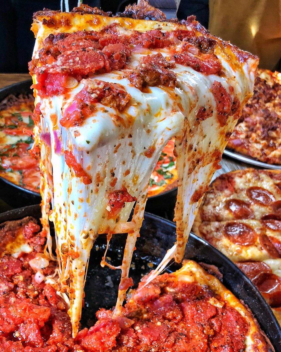 I guess I'll start my diet next month #feastagram| 🔁: @ranceschicagopizza/IG https://t.co/1NGyydmqS5