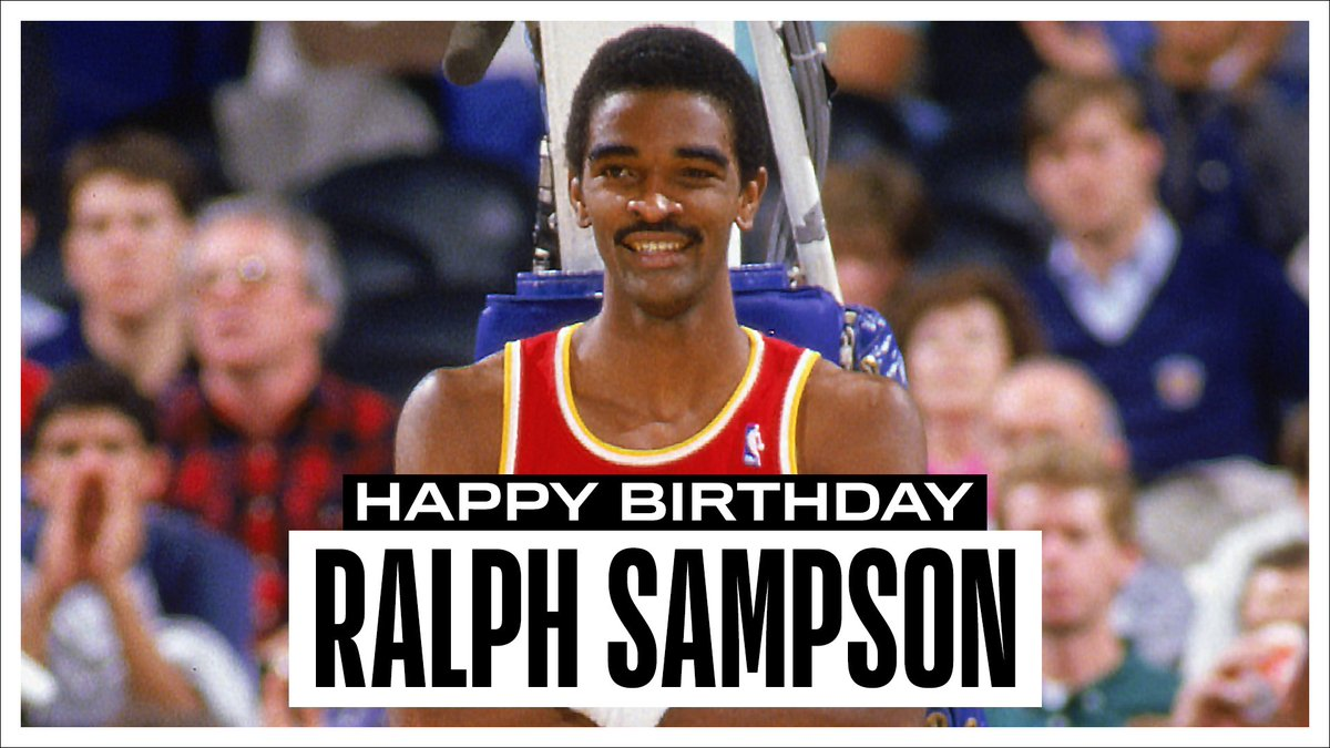 Join us in wishing a Happy 60th Birthday to 4x #NBAAllStar and @Hoophall inductee, Ralph Sampson! #NBABDAY https://t.co/XGT0PPOCjv