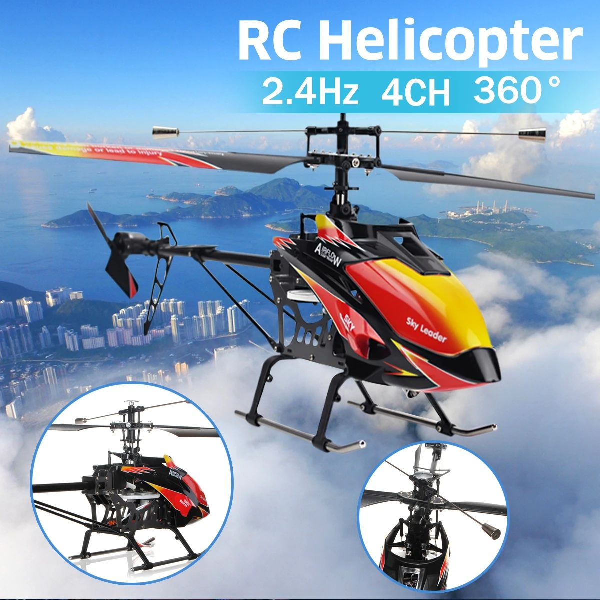 Wltoys V913 Large 27'' 2.4G 4CH Single Blade Built-in Gyro RC Helicopter RTF  https://t.co/xRUhVD1PIn  #Wltoys #V913 #Large #4CH #Single #Blade #Built #in #Gyro #RC #Helicopter #RTF https://t.co/O1pd2o6a9l