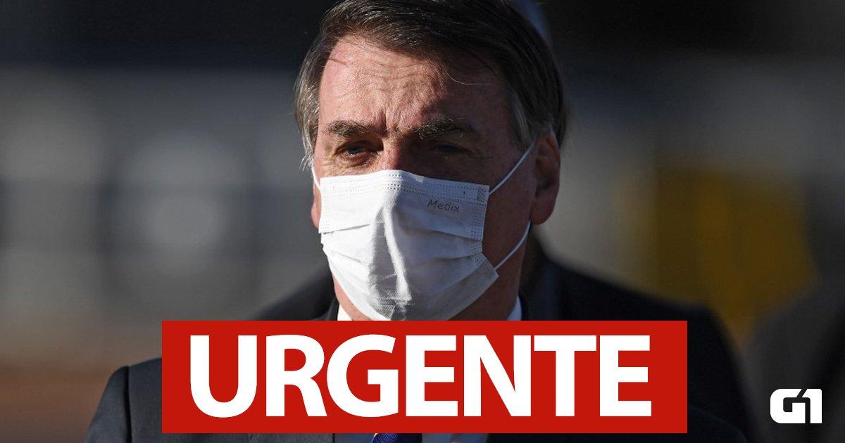 #URGENTE - Bolsonaro diz que seu exame para Covid-19 deu positivo https://t.co/FuffeGgc19 #G1 https://t.co/HO78hNKDjn