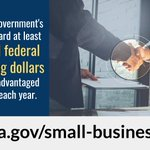 🚪 There's an 8(a) disadvantaged business opportunity knocking!   🔑 If you're looking to accelerate your IT #smallbusiness, submit a proposal to GSA's #STARSIII 8(a) Governmentwide Acquisition Contract: https://t.co/W6P9lpKAlT  @SBAgov