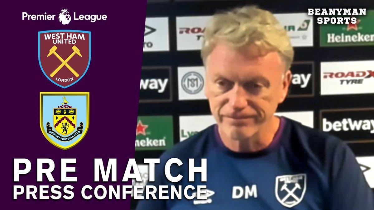 VIDEO - David Moyes FULL Pre-Match Press Conference - West Ham v Burnley - Premier League https://t.co/eiPRfxf2Y0 PLEASE SHARE! https://t.co/owUFjDtlI3