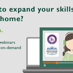 Image for the Tweet beginning: Educational webinars are now available