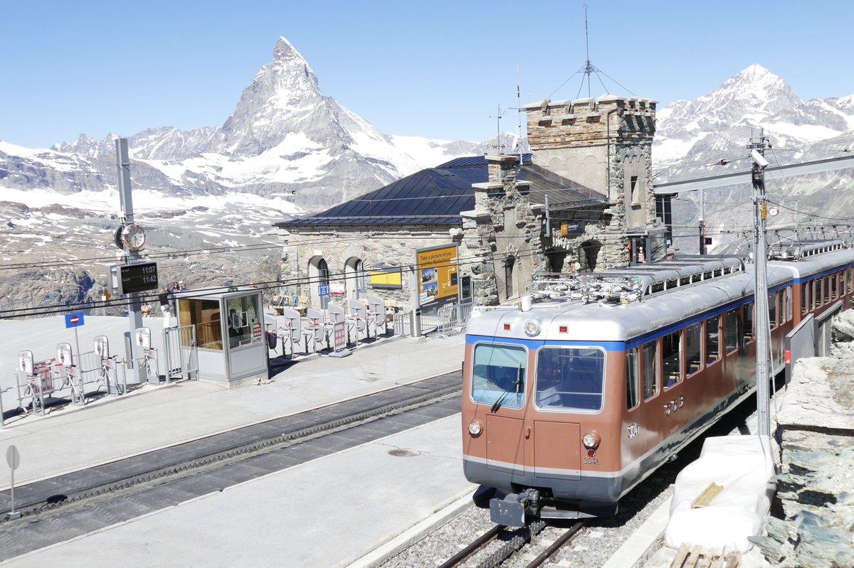 Wonderful #gornergrat @Gornergratbahn @zermatt_tourism #Zermatt @MySwitzerland_e #Switzerland #Matterhorn view