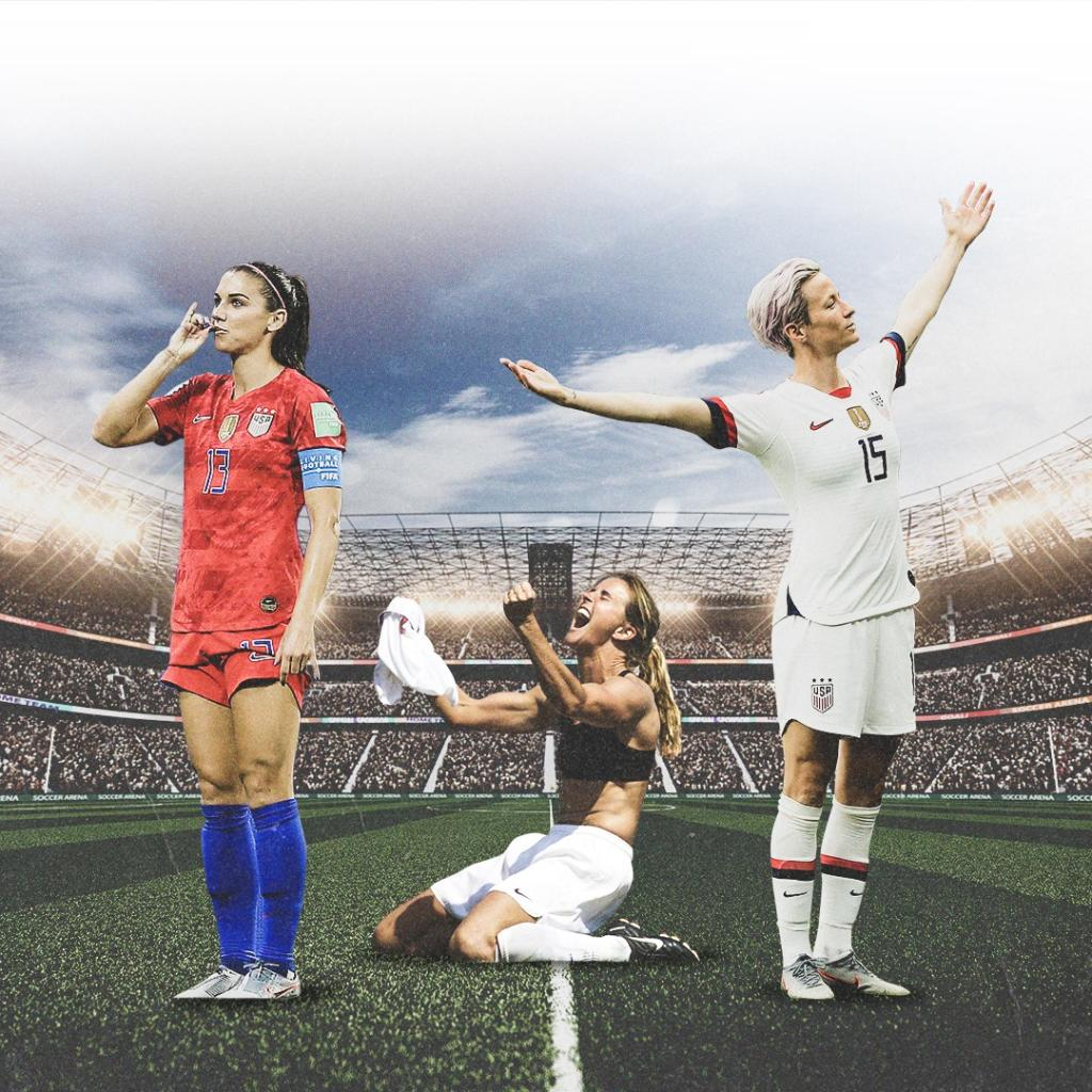 Icons.  One year ago today, the USWNT won the World Cup ⭐ ⭐ ⭐ ⭐ https://t.co/aleMtqSwt0