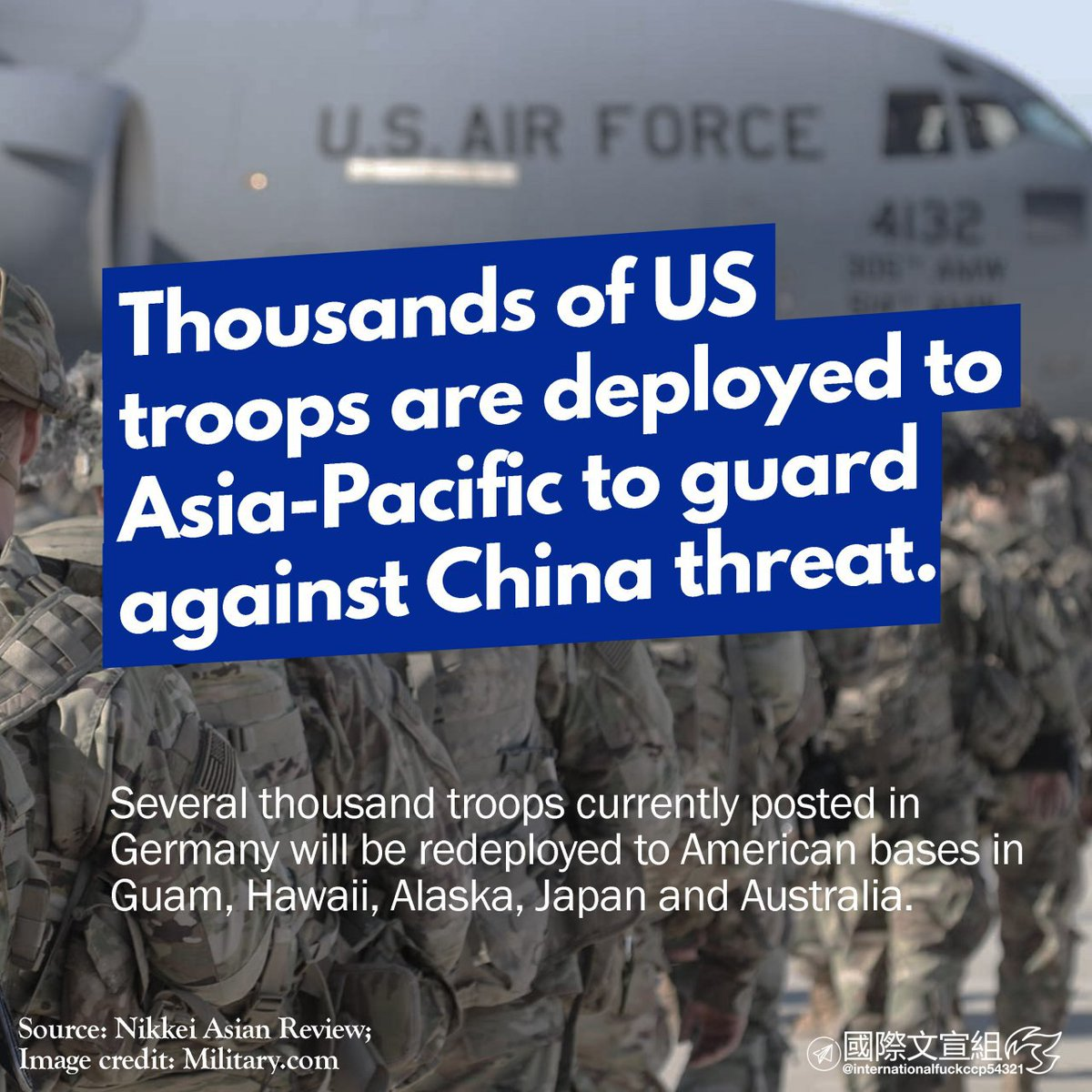 A hot war doesn't look impossible anymore. - #China #AsiaPacific #Asia #USA #US #military #English #DIYms https://t.co/GOgx6JEvbl