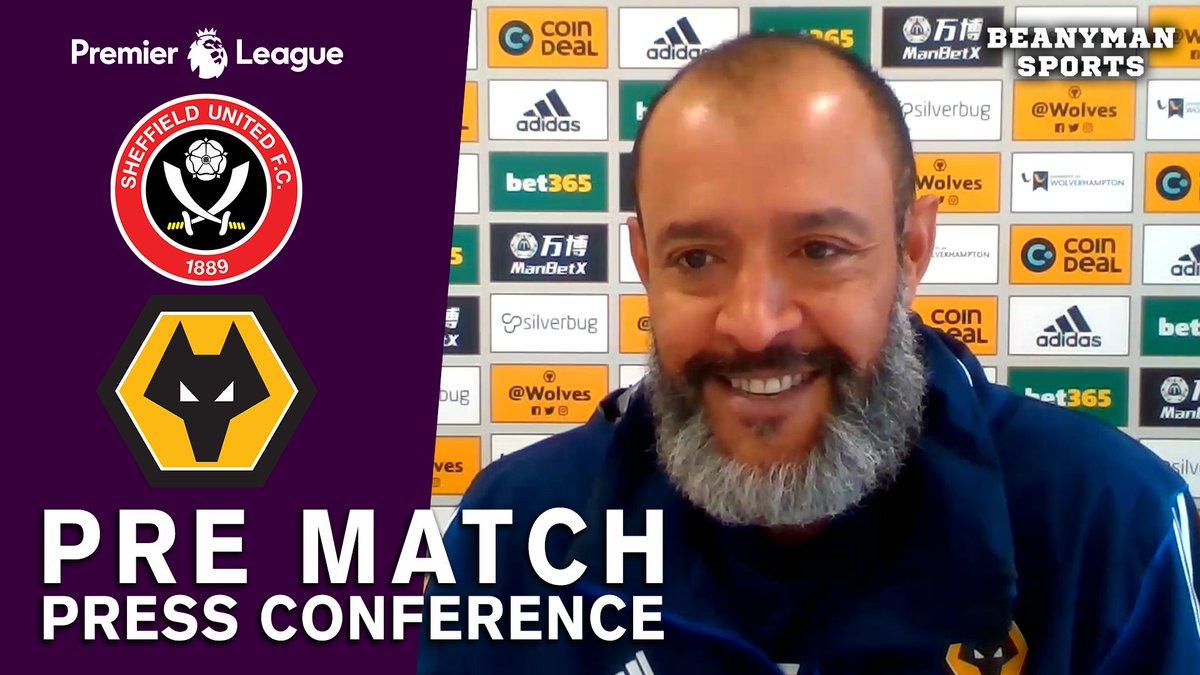 VIDEO - Nuno Espirito Santo FULL Pre-Match Press Conference - Sheffield United v Wolves - Premier League https://t.co/mfQ3iimgGB PLEASE SHARE! https://t.co/IT7hwqW3yq