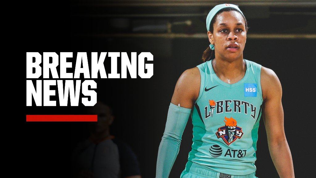 Breaking: @nyliberty guard Asia Durr announced she will not play the 2020 WNBA season after testing positive for COVID-19. https://t.co/fu42xWr79a