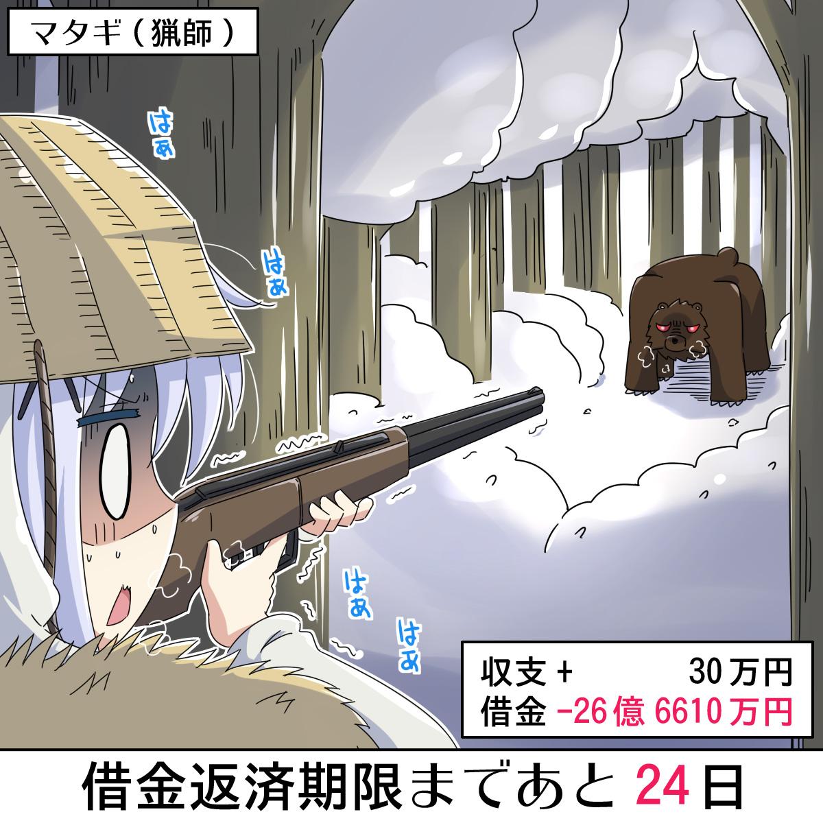 [ごちうさ]30億円の借金を返済するチノちゃん 6日目 #gochiusa #30億チノ