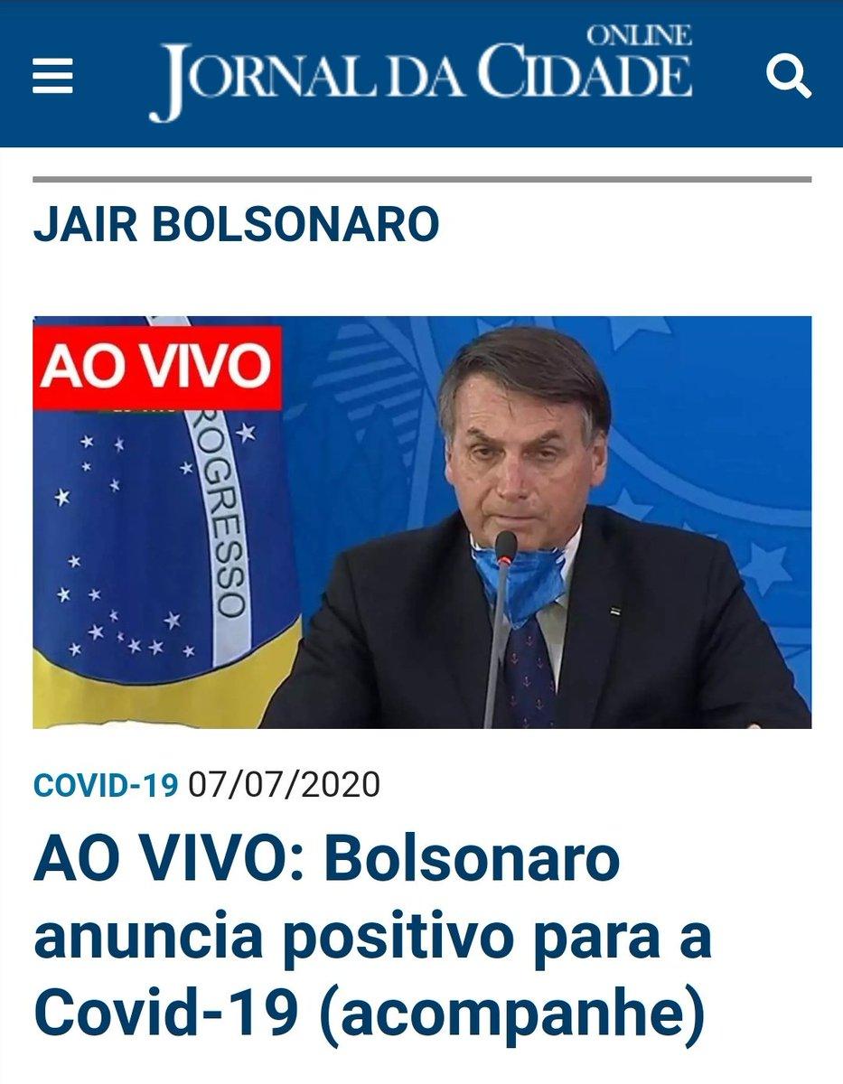 Tenho confiança que, graças ao tratamento da hidroxicloroquina e à força do Presidente @jairbolsonaro, ele superará mais esse obstáculo. #forçaBolsonaro