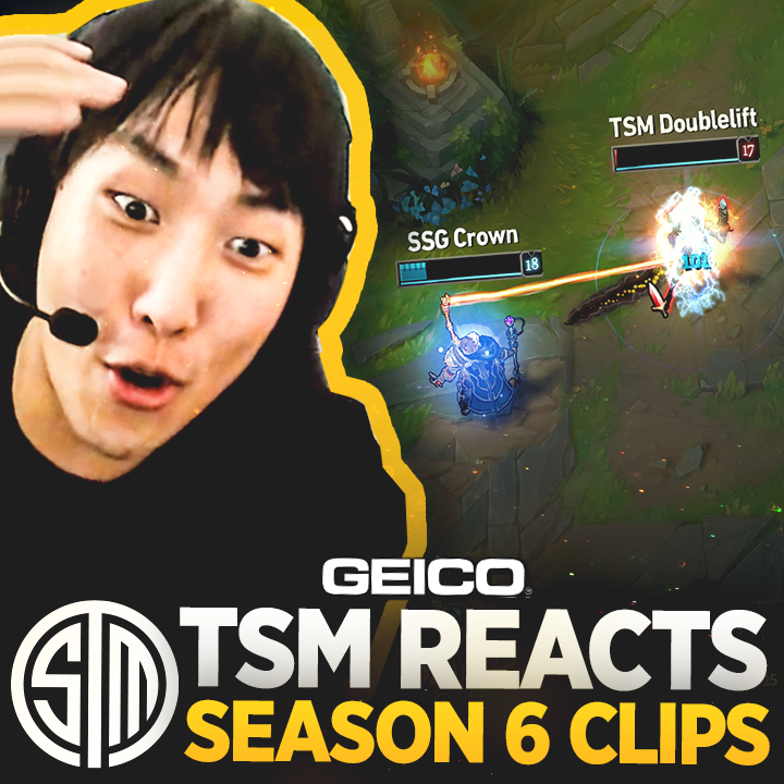 Theres a big #LCS game just around the corner 👀. Warm up for this weekend with some top #TSM moments from 2016! Nostalgia brought to you by @GEICOgaming 📺: youtu.be/N2qhkp7M-No