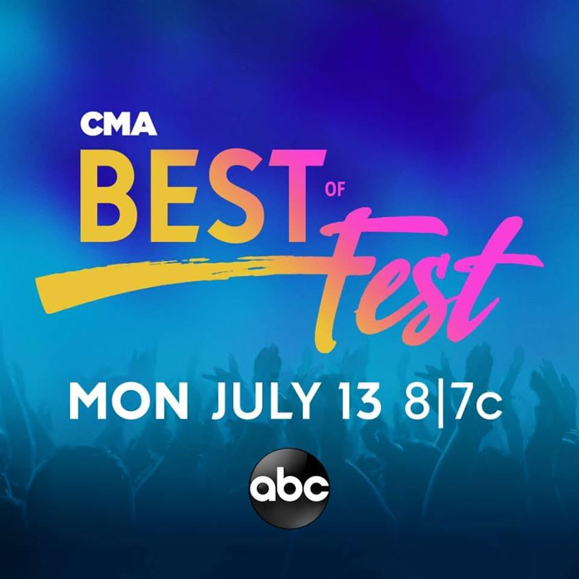 Get ready for one of Country Musics HOTTEST nights as Luke Bryan hosts Best of #CMAfest on Mon, July 13 at 8 7c on ABC! See 25+ unforgettable past performances from your fave Country artists! Full lineup here: CMAfest.com.
