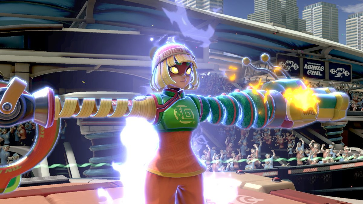 A Super Smash Bros. Ultimate glitch causes Min Min to be stuck T-posing  https:// gonintendo.com/stories/364501 -a-super-smash-bros-ultimate-glitch-causes-min-min-to-be-stuck-t  … <br>http://pic.twitter.com/mYbjS5tZDs