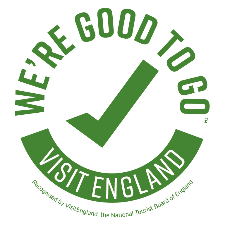 """We've been given the """"We're Good To Go"""" seal of approval from Visit England. We are open and we are so excited to welcome you back. Find out more about what to expect while you are here by visiting https://t.co/JACGntA5Lb  #visitengland #norfolk #bookwithconfidence https://t.co/IwS2TNlHOJ"""