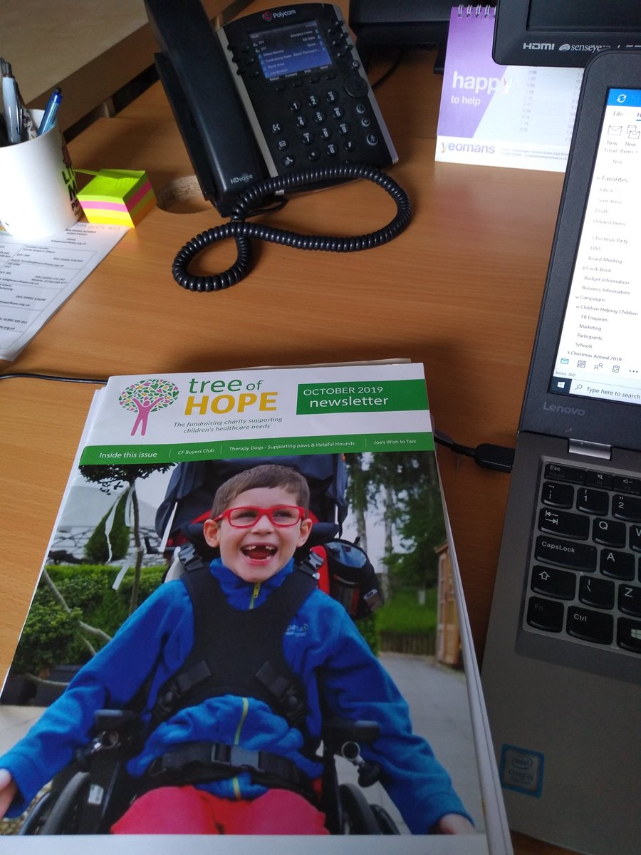 first day back in the @TreeofHopeCC office for a while - only a few of us at a time and always #covidsafe but great to see some lovely humans again #colleagues #team #charitysector https://t.co/gMOPMgd5Vq