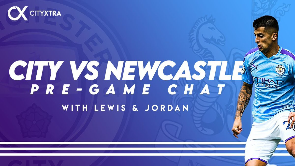 📺 NEW VIDEO: #ManCity vs Newcastle | Pre-Game Chat  ⚔️ Lewis & Jordan preview #MCINEW, discussing whether Joao Cancelo has earned a second consecutive start, the truths about Fernandinho, and much more...  ➡️ WATCH: https://t.co/w5jvILbUTs  #MCFC | @ManCity https://t.co/XKv3nWjhx4