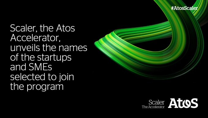 Atos Scaler, our newly launched startup accelerator, has just unveiled the names of the...