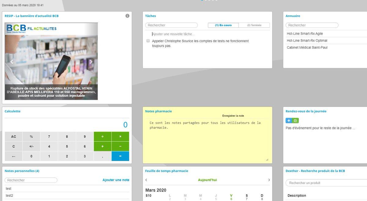 💊 EXCLU #BCB 💊 Communiquez auprès de ¾ des #Officines en France, en temps réel avec l'actualité #BCB en home des dashboards @_Smartrx et #LGPI !    En savoir plus sur cette nouveauté 👉 https://t.co/87znlP7Dqn https://t.co/F2y3OsyiXw