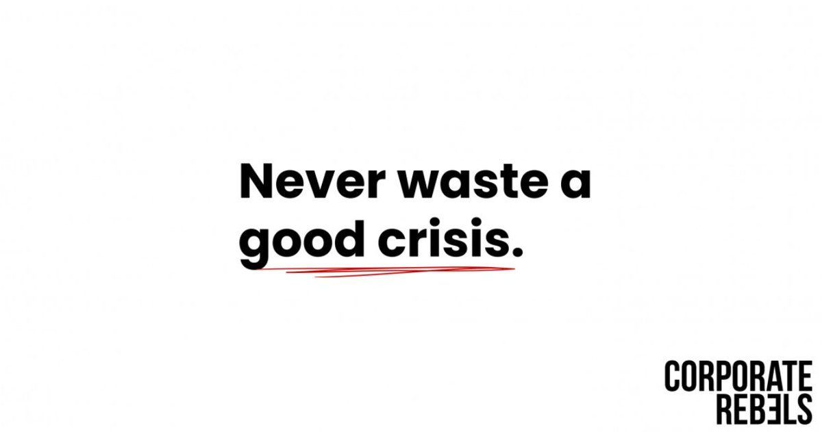 Coronavirus, Bushfires, Depressions. And Their Lessons...  Check out our latest blog right here: https://t.co/K3IekXIs6l  #corporaterebels #crisis #management #leadership #humanresources https://t.co/jMskPjaYOh https://t.co/pvArTdQEce