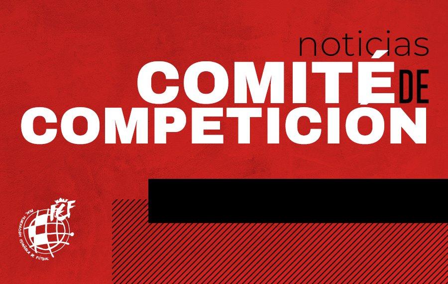 ⚖️ Acuerdos y resoluciones del COMITÉ DE COMPETICIÓN  1️⃣Jornada 34 2️⃣Jornada 38  👉🏻 https://t.co/DzaHsAjB7q https://t.co/Gs2Sm3Hk7T